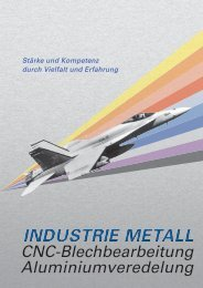 Broschüre PDF - Industrie Metall Gossau ZH
