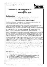 als PDF - Container Menzl