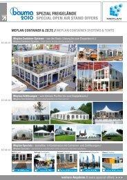 spezial freigelände special open air stand offers - Meplan GmbH