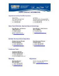Event Contact Information - Meplan  GmbH
