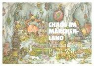 CHAOS IM MÄRCHEN- LAND - Pfadi Wil