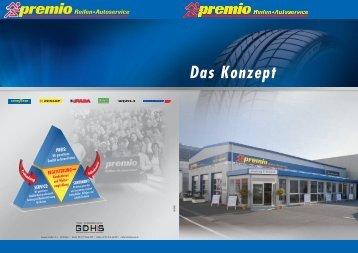 Premio Konzept - Goodyear Dunlop Handelssysteme