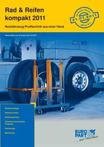 Rad & Reifen kompakt 2011 - EUROPART - europart.de