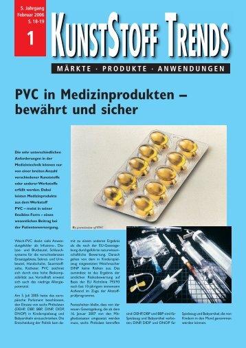 PVC in Medizinprodukten - Arbeitsgemeinschaft der ...