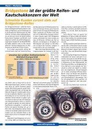 Bridgestone ist der größte Reifen- und ... - Reifenpresse.de