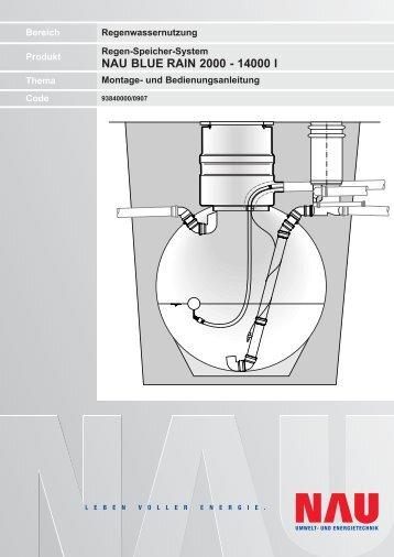 Montageanleitung Bluerain - Nau Tank
