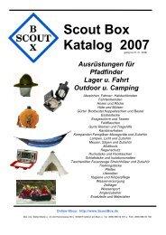 Scout Box Katalog 2007 - Scoutbox, Stefan Blank
