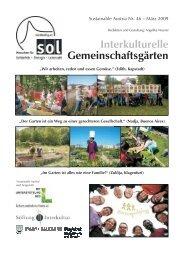 Interkulturelle Gemeinschaftsgärten - SOL - Menschen für Solidarität ...