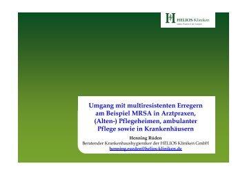 MRSA - HELIOS Kliniken GmbH