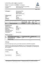 GUTACHTEN zur ABE Nr. 46502 nach §22 StVZO Anlage 1 zum ...