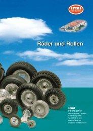 Räder und Rollen - Irmi Fischbacher