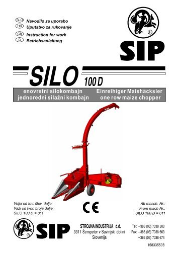Navodila_SILO_100_D_(tov_st_011).pdf - SIP Strojna Industrija dd
