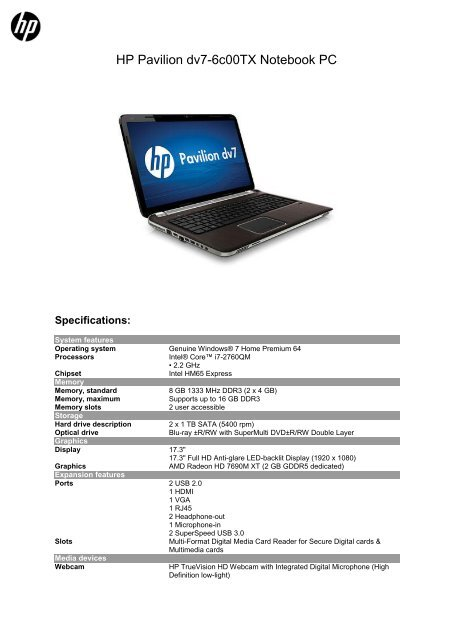HP PAVILION DV7 CARD READER DRIVERS PC