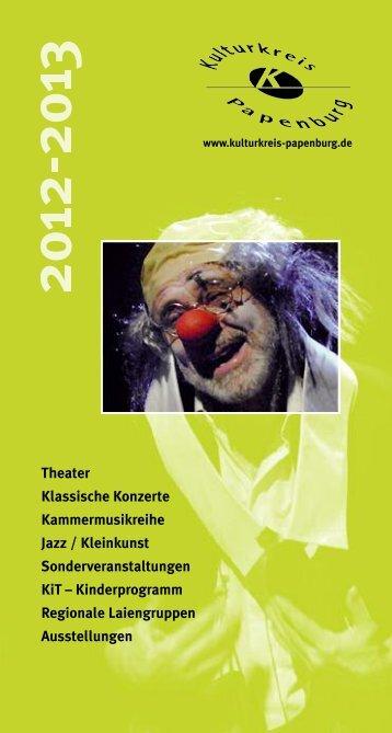 KiT (Kinder im Theater) - Kulturkreis Papenburg