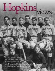 For Love of the Game An Appreciation of Tom Parr ... - Hopkins School
