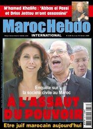 téléchargez toutes les pages de mhi n°638 - Maroc Hebdo ...