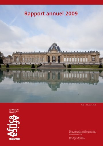 Rapport annuel 2009 - Royal Museum for Central Africa