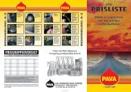 PRISLISTE - Kalundborg PAVA Center