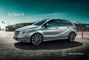 La Classe B - Mercedes-Benz Luxembourg
