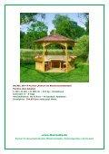 """Katalog """"Pavillons & andere Sitzgelegenheiten"""" - arwid - Seite 4"""