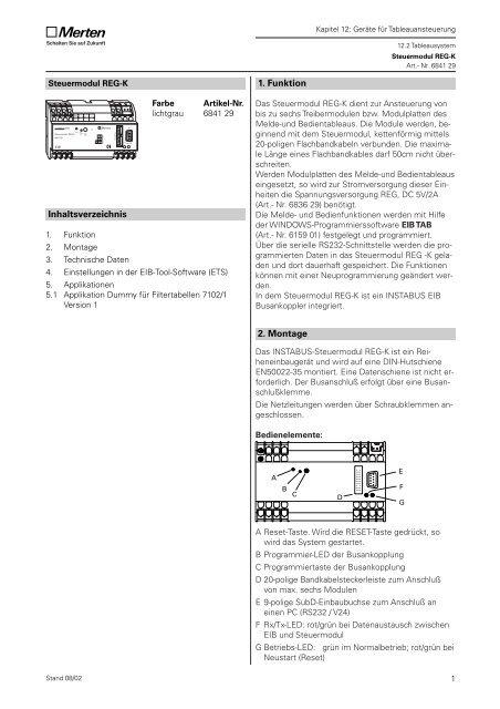 684129 Steuermodul REG-K
