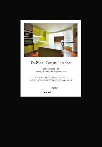 DuPont™ Corian® Interiors - Mineralwerkstoff DuPont™ Corian