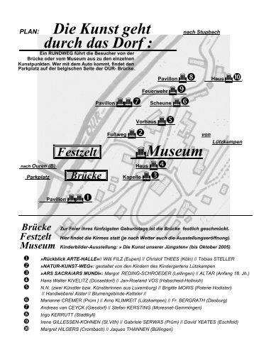 Lageplan der Künster (PDF) - Kult-OUR-Tal-Museum