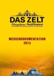 DAS ZELT – Chapiteau PostFinance Stars on tour 2013