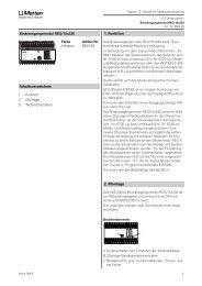 2. Montage 1. Funktion Inhaltsverzeichnis