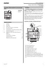 Schaltaktor REG-K/8x230/10 mit Handbetäti- gung ...