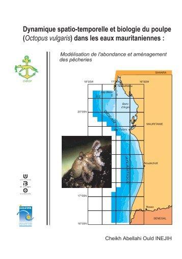Dynamique spatio-temporelle et biologie du poulpe ... - IMROP