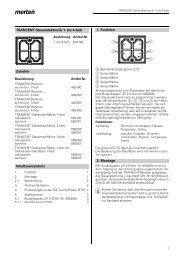 623190 TRANCENT Steuerelektronik 1 bis 4fach