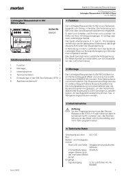 Lichtregler/Steuereinheit 0-10V REG-K/2fach Inhaltsverzeichnis 1 ...