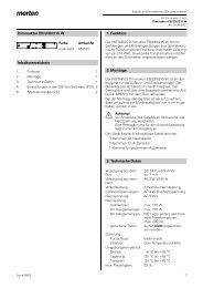 650501 Dimmaktor EB/230/215W