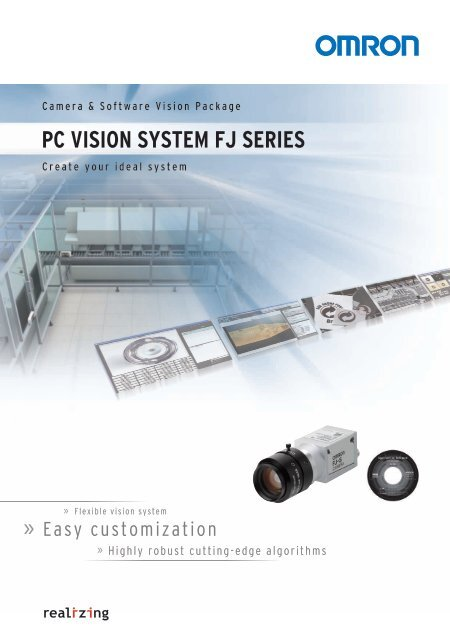 PC VISION SYSTEM FJ SERIES - OMRON Industrial Automation