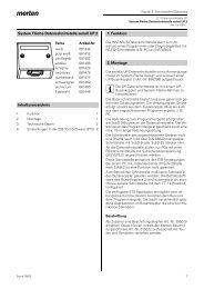 6814xx System Fläche-Datenschnittstelle seriell UP 2
