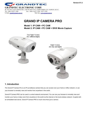 GRANDTEC CAMERA TREIBER WINDOWS 10