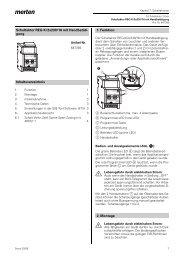 Schaltaktor REG-K/2x230/16 mit Handbetäti- gung ...