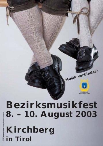 Bezirksmusikfest - Roman Mitterer Elektrotechnik