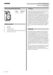 Dämmerungsschalter REG-S/DS1 Inhaltsverzeichnis 1. Funktion 2 ...