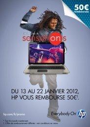 un PC portable HP Pavilion dv6-6157sf à - Rue du Commerce