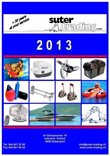 Katalog für Privatkunden - Suter Trading GmbH