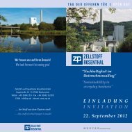E I N L A D U N G INVITATION 22. September 2012 - ZPR Zellstoff