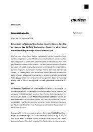 Download Pressemitteilung (PDF) - Merten