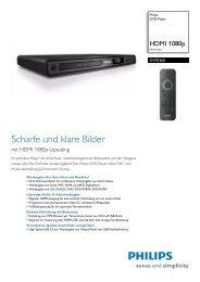 DVP3360/12 Philips DVD-Player