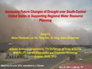 Assessing Future Changes of Drought over South-Central - Climate ...