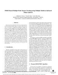PMHT based multiple point targets tracking using multiple models in ...