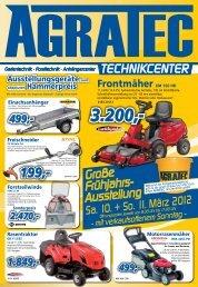 Mit voller Garantie - Nur begrenzte Stückzahl - AGRATEC GmbH