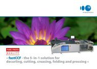 fastCCF - the 5-in-1 solution for decurling ... - Imaging Solutions