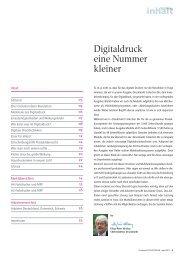 Digitaldruck eine Nummer kleiner - Druckmarkt